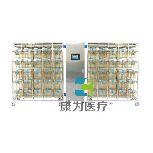 """""""康为医疗""""触摸屏IVC大小鼠共用笼具 (IR25笼一拖二(PSU))"""