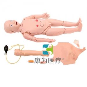 """""""康为医疗""""全功能三岁儿童护理标准化模拟病人"""