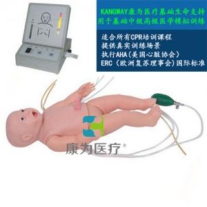 """""""万博手机手机登录app医疗""""新生儿心肺复苏标准化模拟病人(带气管插管)"""