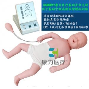 """""""万博手机手机登录app医疗""""高级电子婴儿心肺复苏标准化模拟病人"""