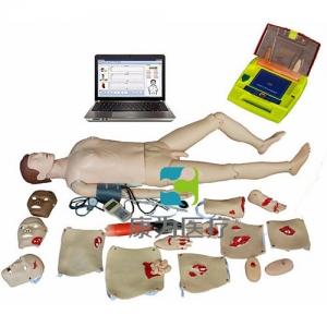"""""""万博手机手机登录app医疗""""高级电脑全功能急救训练标准化模拟病人(心肺复苏、CPR血压测量、AED除颤,创伤与基础护理)"""