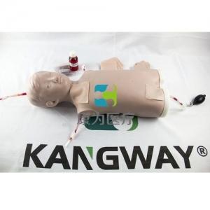 高级儿童小儿中心静脉注射穿刺躯干训练模型